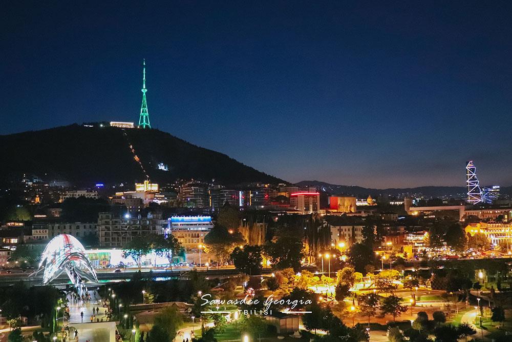 Night in Tbilisi